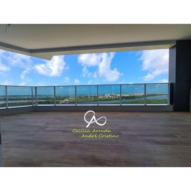 apartamento 4/4 suítes, varanda gourmet, vista livre permanente, Jardins, Aracaju/SE - Foto 3