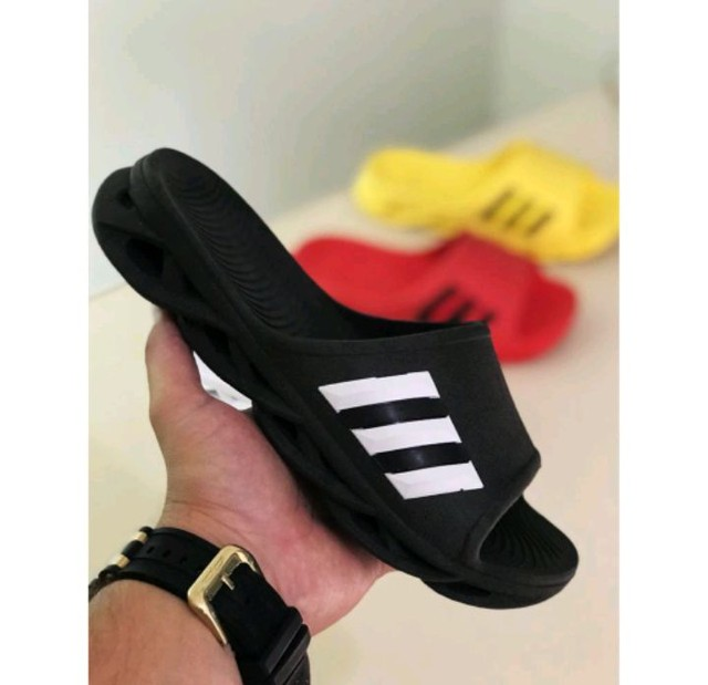 Chinelo Adidas Slide Unissex Sandália Kivah Maverick - Foto 4