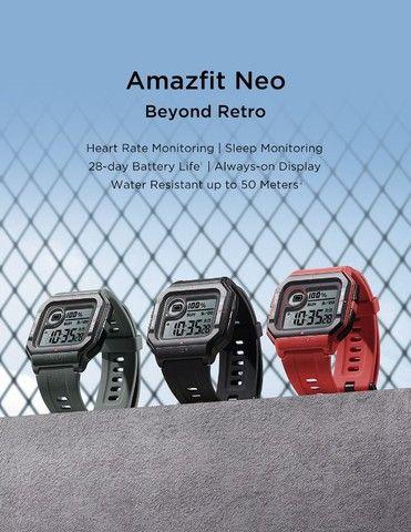 Smartwatch Amazfit Neo Relógio Inteligente Bluetooth - Versão Global - Foto 2