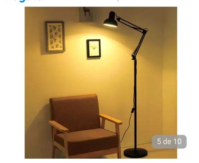 Luminária Piso 1,90m - Foto 2