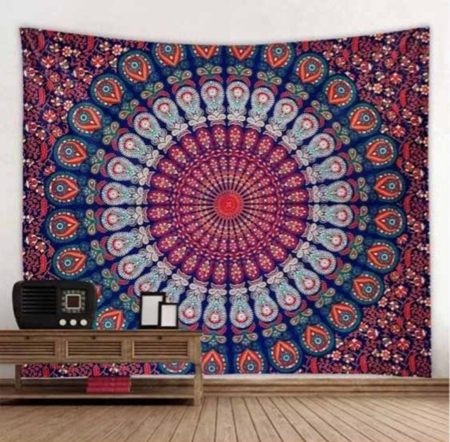 Tapete decorativo em tecido - Mandala do Sucesso