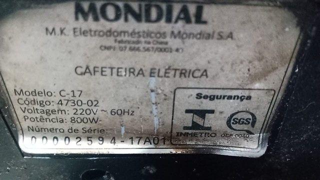 Cafeteira elétrica inox  - Foto 4