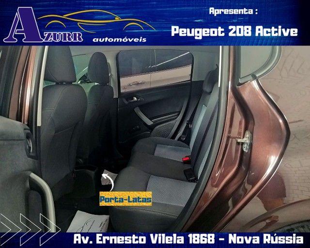 PEUGEOT 208 ACTIV COMPLETO 1.5 FLEX REVISADO GARANTIA BAIXA KM IMPECÁVEL   - Foto 13