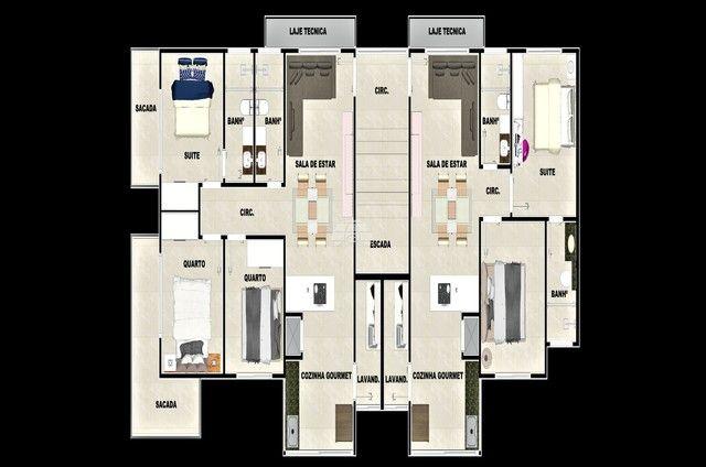 Apartamento à venda com 3 dormitórios em Balneário paese, Itapoá cod:937169 - Foto 12