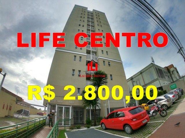 Aluguel Apartamento 7°Andar No Life Centro Com 02 Quartos Sendo 01 Suíte