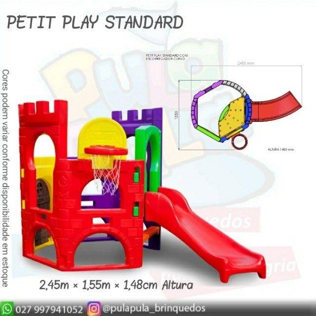 Venda Playground Petit Play com balanço colorido - Apenas por encomenda - Foto 6