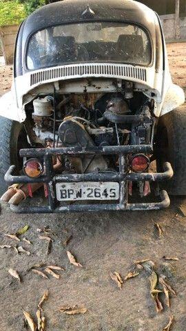 Fusca baja ap18 gasolina documentado - Foto 4