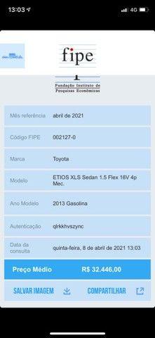ETIOS 2013 SEDAN 32.400,00 - Foto 6