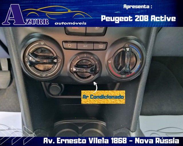 PEUGEOT 208 ACTIV COMPLETO 1.5 FLEX REVISADO GARANTIA BAIXA KM IMPECÁVEL   - Foto 11