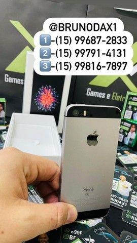iPhone SE silver / parcelo em até 18x / entrego