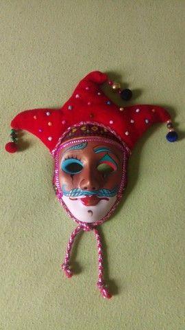 Coleção de mascaras Italianas em porcelana; - Foto 3