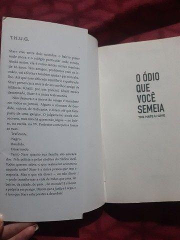 Livro O ódio que você semeia - Foto 3