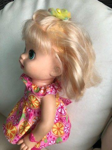 Boneca Baby Alive comilona - Foto 5