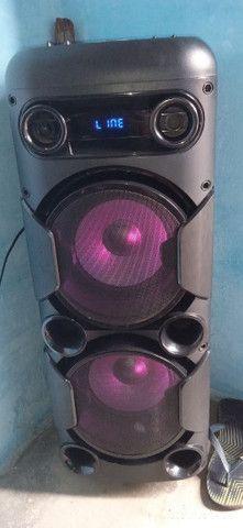 Caixa de som Multilaser Mini torre - Foto 5