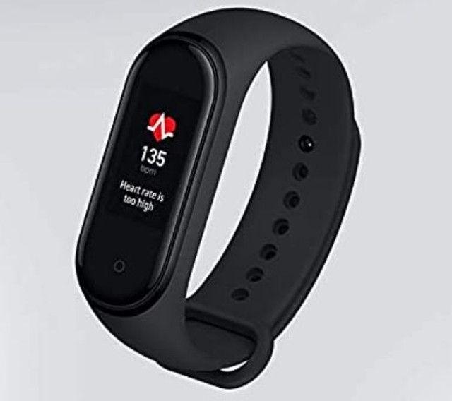 """Xiaomi Mi Smart Band 5 1.1"""" caixa de plástico pc pulseira black<br><br> - Foto 3"""