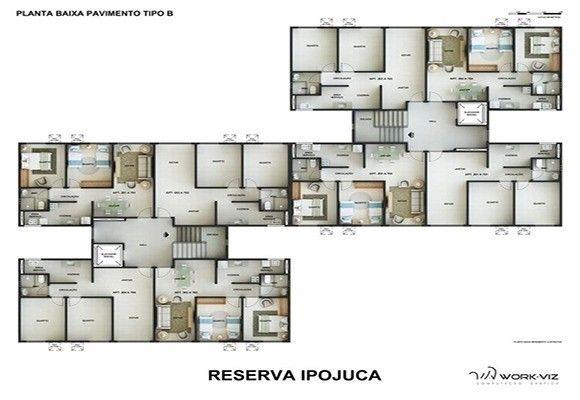 MF- Reserva Ipojuca. apartamento muito agradável para você viver !