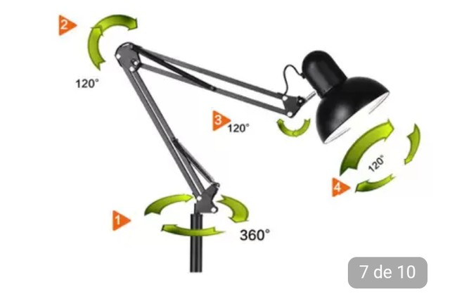 Luminária Piso 1,90m - Foto 4