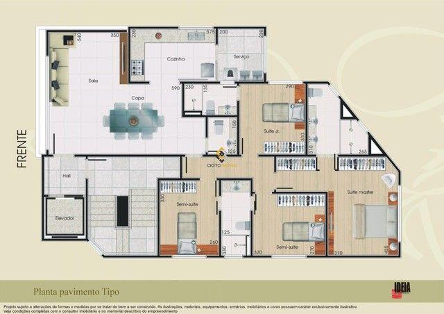 Apartamento à venda com 4 dormitórios em Liberdade, Belo horizonte cod:4310 - Foto 4