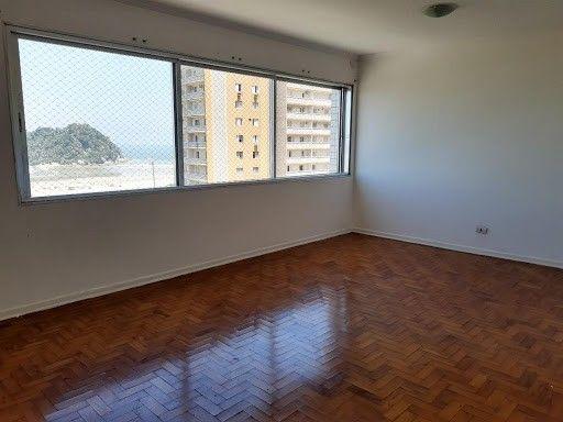 Apartamento com 2 dormitórios para alugar, 118 m² por R$ 2.900,00 - José Menino - Santos/S - Foto 2