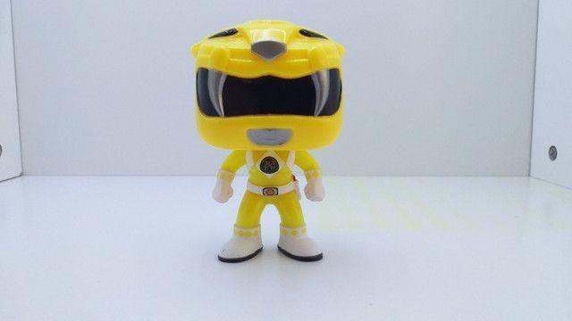 Funko POP 362 Yellow Ranger ( Power Ranger ) - Epic Toys Brasil - Foto 4
