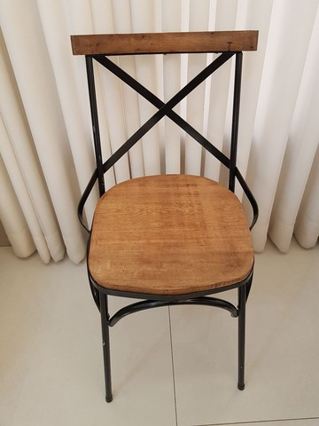 Cadeira Vintage X Rústica  - Foto 4