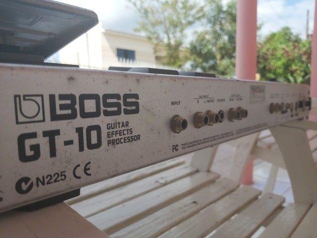 Pedaleira Boss GT 10 - Foto 2