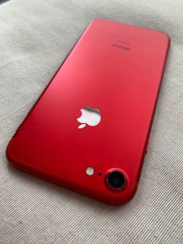 iPhone 7 128GB vermelho - Foto 5