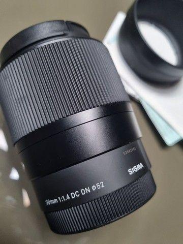 lente sigma 30mm F1.4 sony - Foto 2