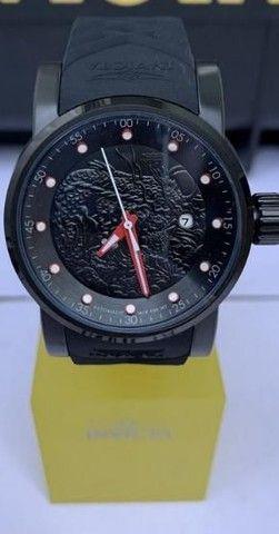 Relógio invicta novo na caixa + prata de pulso