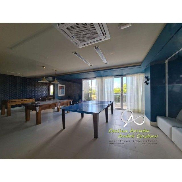apartamento 4/4 suítes, varanda gourmet, vista livre permanente, Jardins, Aracaju/SE - Foto 18