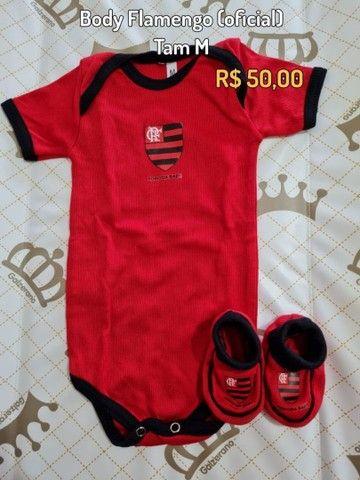 Bodies oficiais de time - Flamengo e Botafogo - Foto 2