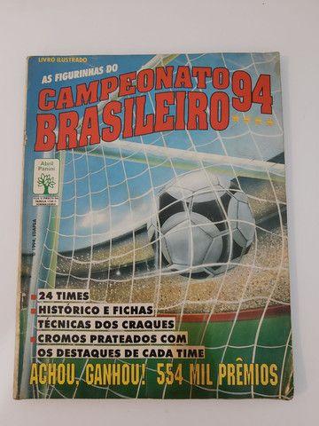 Album de figurinhas [quase] completo campeonato Brasileiro 1994