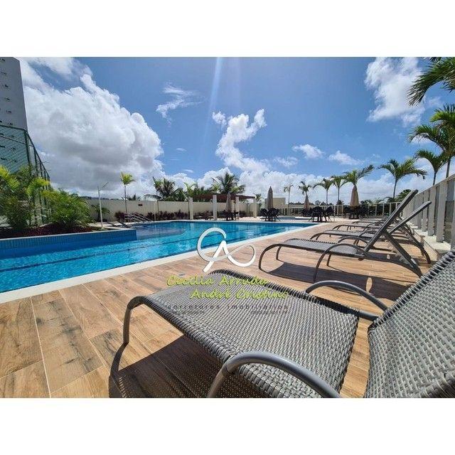 apartamento 4/4 suítes, varanda gourmet, vista livre permanente, Jardins, Aracaju/SE - Foto 13