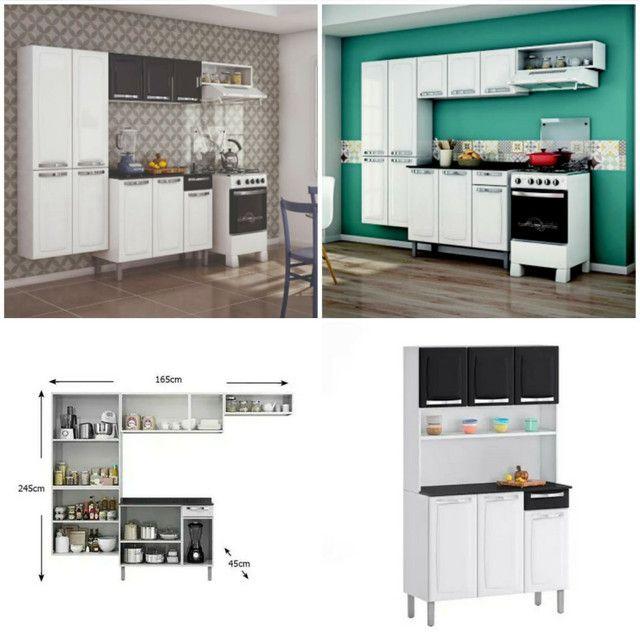 Armário de cozinha ferro Itatiaia novo na caixa vários modelos  - Foto 3
