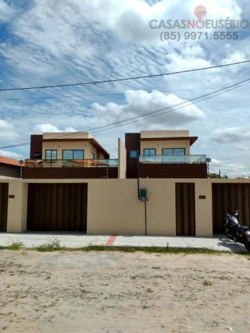 Casa duplex nova no centro do eusebio, 162 metros, 3 suítes, apenas 350 mil pra fechar - Foto 2