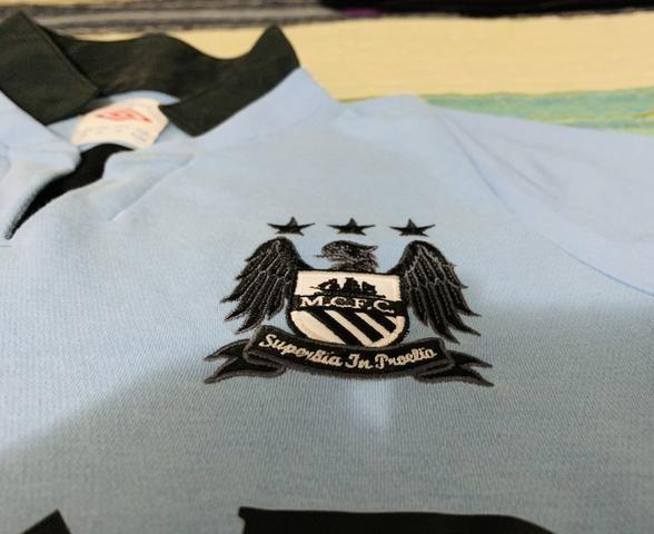 Camisa Manchester City oficial - Roupas e calçados - Recreio Dos ... f98af867c3a71