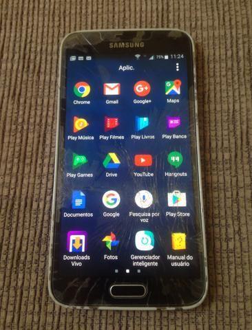 Samsung galaxy s5 / com biometria