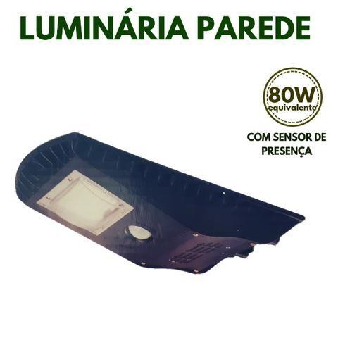 Luminaria Solar com Sensor