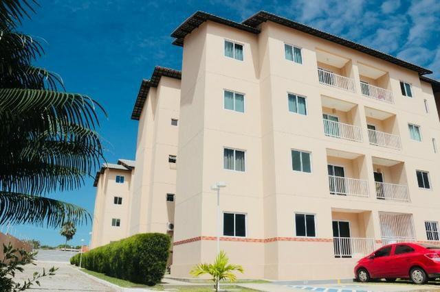 Apartamento com doc. gratis: 2 quartos, 2 banheiros , piscina, salao de festas - Foto 2