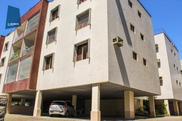 Apartamento com 3 dormitórios para alugar, 100 m² por R$ 1.600/mês - Papicu - Fortaleza/CE