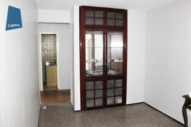 Apartamento com 3 dormitórios para alugar, 100 m² por R$ 1.600/mês - Papicu - Fortaleza/CE - Foto 11