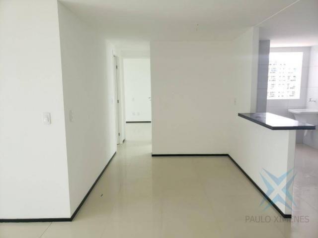 Apartamento novo com 3 dormitórios para alugar, 81 m² por r$ 1.700/mês - engenheiro lucian - Foto 8