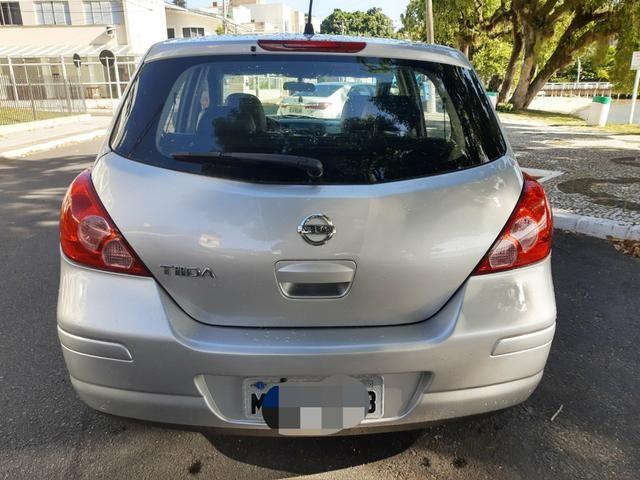 Nissan tiida 2008 automático com teto solar e GNV - Foto 11