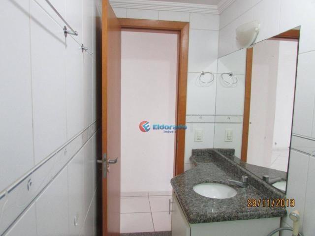 Apartamento com 3 dormitórios para alugar, 60 m² por r$ 1.100,00 - jardim são carlos - sum - Foto 17