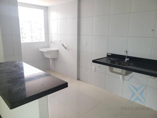 Apartamento novo com 3 dormitórios para alugar, 81 m² por r$ 1.700/mês - engenheiro lucian - Foto 9