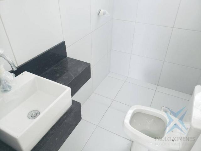 Apartamento novo com 3 dormitórios para alugar, 81 m² por r$ 1.700/mês - engenheiro lucian - Foto 17