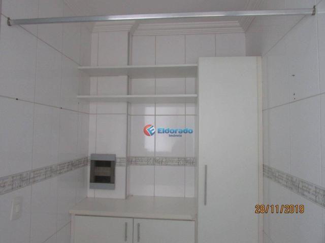 Apartamento com 3 dormitórios para alugar, 60 m² por r$ 1.100,00 - jardim são carlos - sum - Foto 11