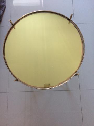 Mesa lateral dourada - Foto 2
