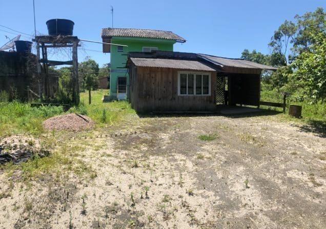 Ótimo Terreno com Casa de madeira, 409,6m², Baln Jdm Verdes Mares, Itapoá/SC - Foto 4