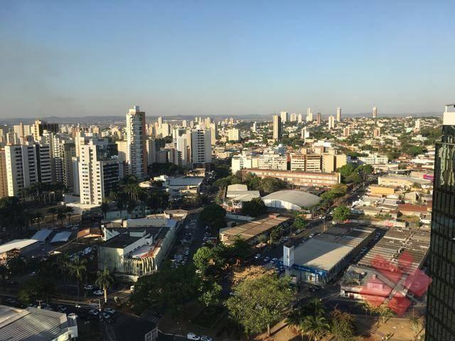 Apartamento com 1 Quarto para alugar no Setor Oeste em Goiânia/GO. - Foto 2
